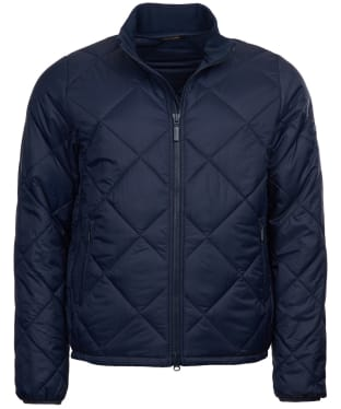 Men's Barbour Steve McQueen Kingman Quilted Jacket - Navy