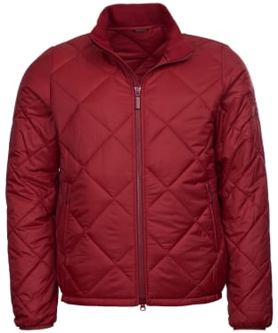 Men's Barbour Steve McQueen Kingman Quilted Jacket - Biking Red