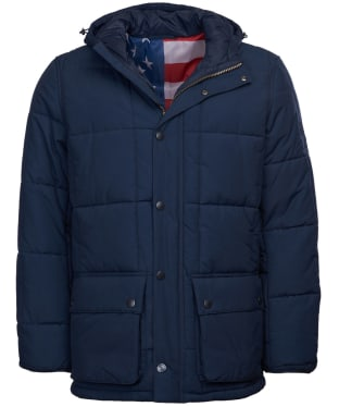 Men's Barbour Steve McQueen Goshen Quilted Jacket - Navy