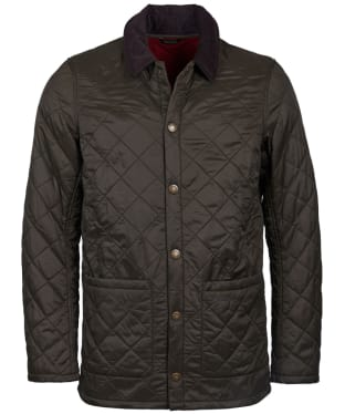 Men's Barbour Blinter Polarquilt Jacket - Olive