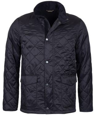 Men's Barbour Blunk Polarquilt Jacket - Black