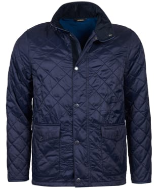 Men's Barbour Blunk Polarquilt Jacket - Navy