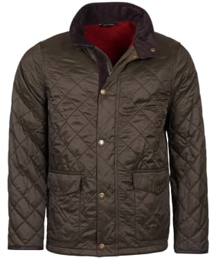 Men's Barbour Blunk Polarquilt Jacket - Olive