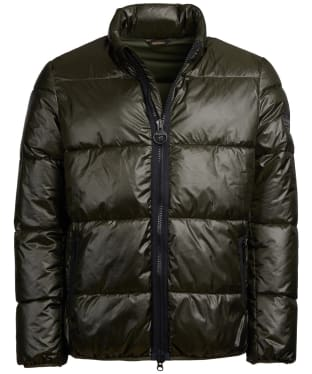 Men's Barbour International Act Quilted Jacket - Forest