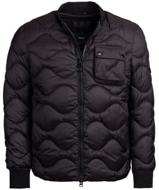 Men's Barbour International Synon Quilted Jacket - Black