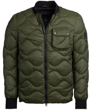 Men's Barbour International Synon Quilted Jacket - Forest