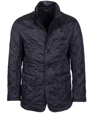 Men's Barbour Doister Polar Fleece Quilted Jacket