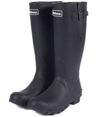 Men's Barbour Amble Neoprene Wellingtons - Black