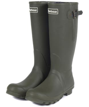 Men's Barbour Amble Neoprene Wellingtons - Olive