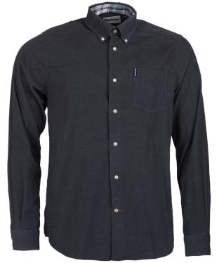 Men's Barbour Cord 1 Tailored Shirt - Grey
