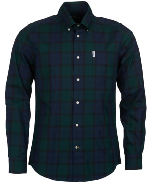 Men's Barbour Wetheram Shirt - Black Watch Tartan