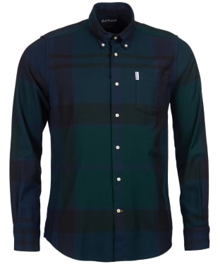 Men's Barbour Dunoon Shirt - BLACK WATCH TRT