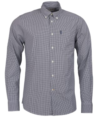 Men's Barbour Gingham 10 Tailored Shirt - Black