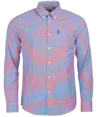 Men's Barbour Gingham 11 Tailored Shirt - Red