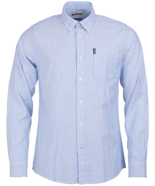 Men's Barbour Stripe 7 Tailored Shirt - Blue