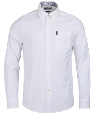 Men's Barbour Oxford 7 Tailored Shirt - White