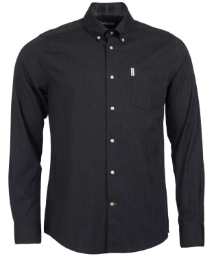 Men's Barbour Lambton Shirt - Charcoal