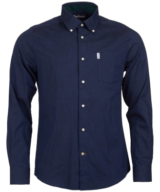 Men's Barbour Lambton Shirt - Navy
