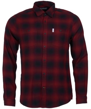Men's Barbour Hurst Shirt - Chilli Red
