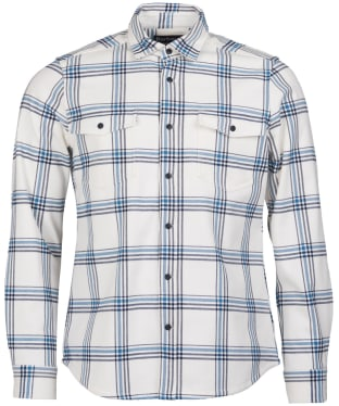 Men's Barbour Winterton Shirt - Ecru Check