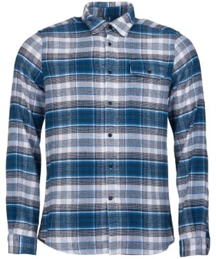 Men's Barbour Shoreman Shirt - Blue Steel Check
