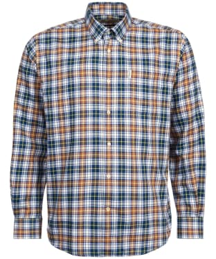 Men's Barbour Thermo-Tech Lund Shirt - Brown Check