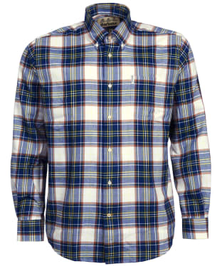 Men's Barbour Thermo-Tech Dalby Shirt - Green Check