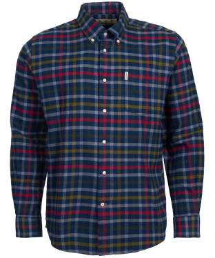 Men's Barbour Hadlo Shirt - Navy Check