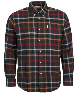 Men's Barbour Hadlo Shirt - Olive Check
