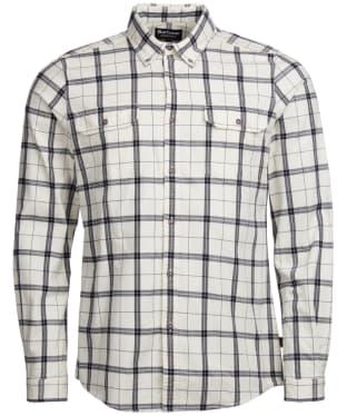 Men's Barbour International Shroud Shirt - Ecru