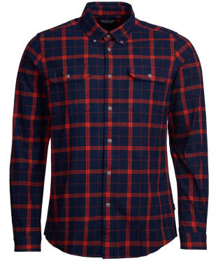 Men's Barbour International Shroud Shirt - Navy