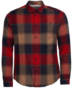 Men's Barbour Steve McQueen Joseph Shirt - Navy Check