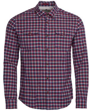 Men's Barbour Steve McQueen Mal Shirt - Mid Blue Check