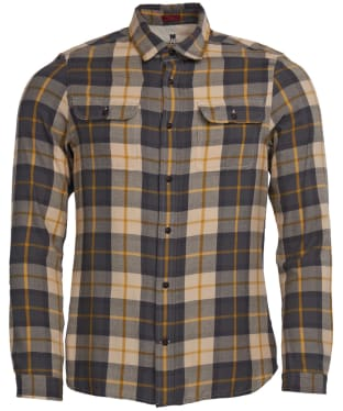 Men's Barbour Steve McQueen Bill Shirt - Ecru Check