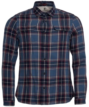 Men's Barbour Steve McQueen Bill Shirt - Blue Check