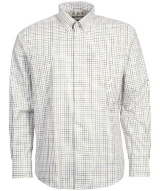 Men's Barbour Tattersall 9 Regular Shirt - Ginger Check