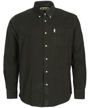 Men's Barbour Cord 1 Regular Shirt - Forest