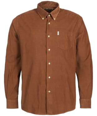 Men's Barbour Cord 1 Regular Shirt - Sandstone