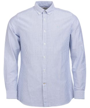 Men's Barbour Stripe 9 Tailored Shirt - Indigo