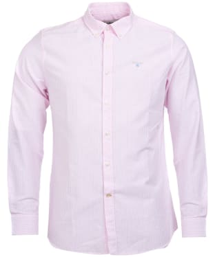 Men's Barbour Stripe 9 Tailored Shirt - Pink