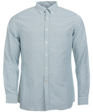 Men's Barbour Tattersall 12 Tailored Shirt - Green