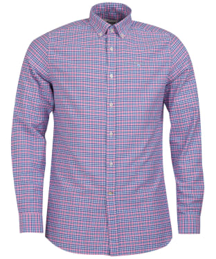 Men's Barbour Highland Check 22 Tailored Shirt - Pink Check
