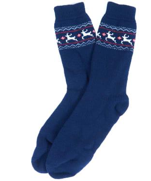 Men's Barbour Fairisle Boot Socks