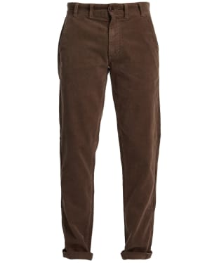 Men's Barbour Neuston Stretch Cord Trousers - Fossil Stone