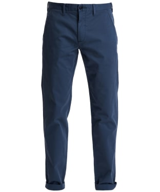 Men's Barbour Neuston Essential Chinos - Dark Chambray