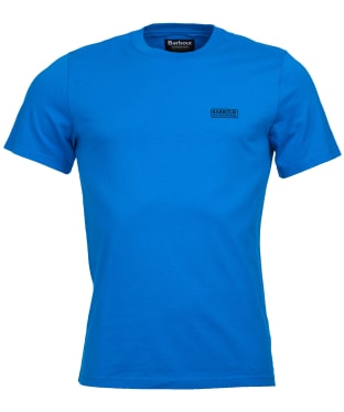 Men's Barbour International Small Logo Tee - Deep Turqoise