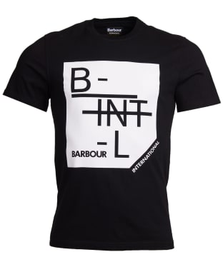 Men's Barbour International Grid Tee