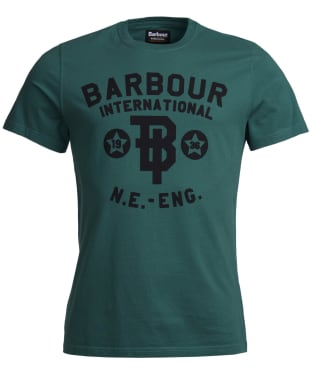 Men's Barbour International Vintage Tee - Washed Green