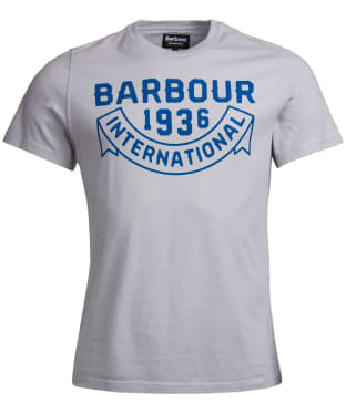 Men's Barbour International Vintage Tee - Winter Grey