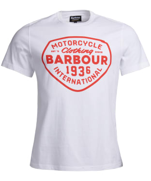 Men's Barbour International Vintage Tee - White